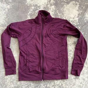 Nike Sportswear Purple Track Jacket small